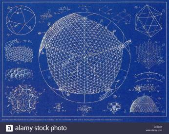 buckminster-fuller-building-constructiongeodesic-dome-united-states-G16C51