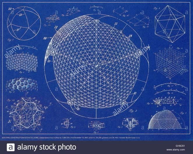 buckminster-fuller-building-constructiongeodesic-dome-united-states-G16C51